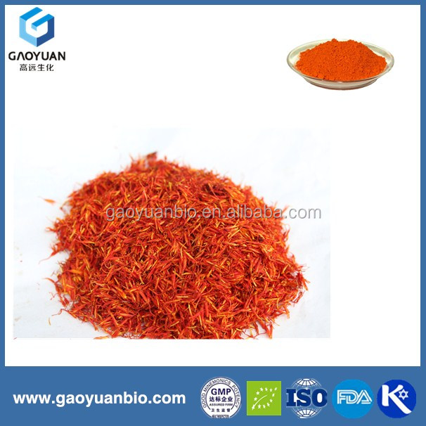 Organic safflower extract with free sample is from alibaba China by xi'an gaoyuan factory