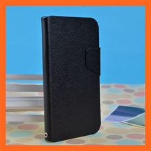 Black Fly IQ 4410 Case, PU Leather Flip Case For Fly IQ 4410