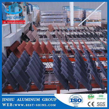 JINHU cheap stone coated metal building materials roof tiles sheet manufacturer
