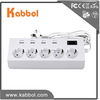 5 way outlet led strip power supply 4 usb surge protector power socket