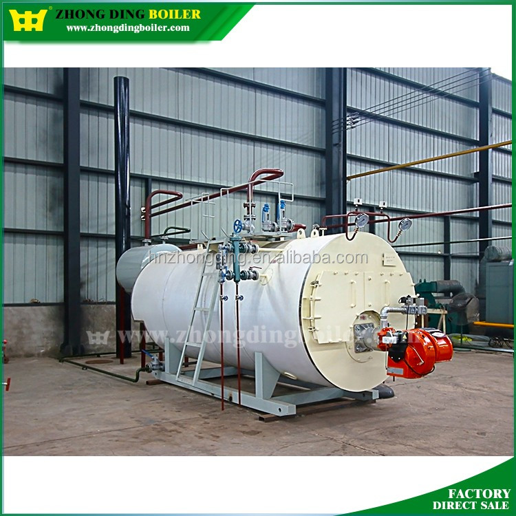 Enough heating power gas and oil fired 1ton 2ton 4ton steam boiler