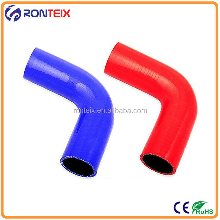Flexible 90 Degree Flange Joint Elbow Silicone Rubber Hose