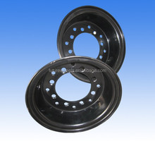 5.00F-10 Divided Rim for solid tire 6.50-10 ,forklift tire wheels, Split forklift wheel rim