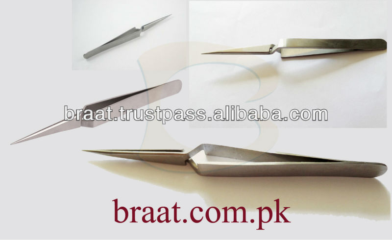 X type Eyelash Extension Tweezers