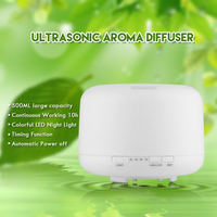 Factory Price Mini Portable 500 ML Essential Oil Diffuser /ultrasonic Aroma Diffuser/Air purifier