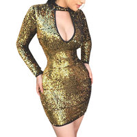 80811-MX33 sexy sequins bodycon dresses for women short club dress