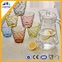 53oz Eco-Friendly Glass Water Jug Set With Lid From FaQiang Glass