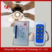 2015 new AC ceiling fan/LED light speed remote control with receiver/IR sensor transmitter