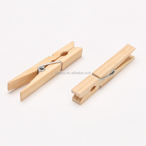 Natural pine wooden pins of JX1039