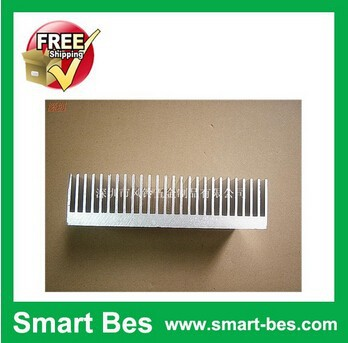 Free shipping by <strong>DHL</strong>,Fedex,EMS~ (5 piece/lot) 130*33.6*150mm Aluminum Heatsink profiles and aluminum radiator