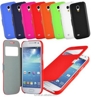 Magnetic Leather Window Flip Case Cover For Samsung Galaxy S4 i9500