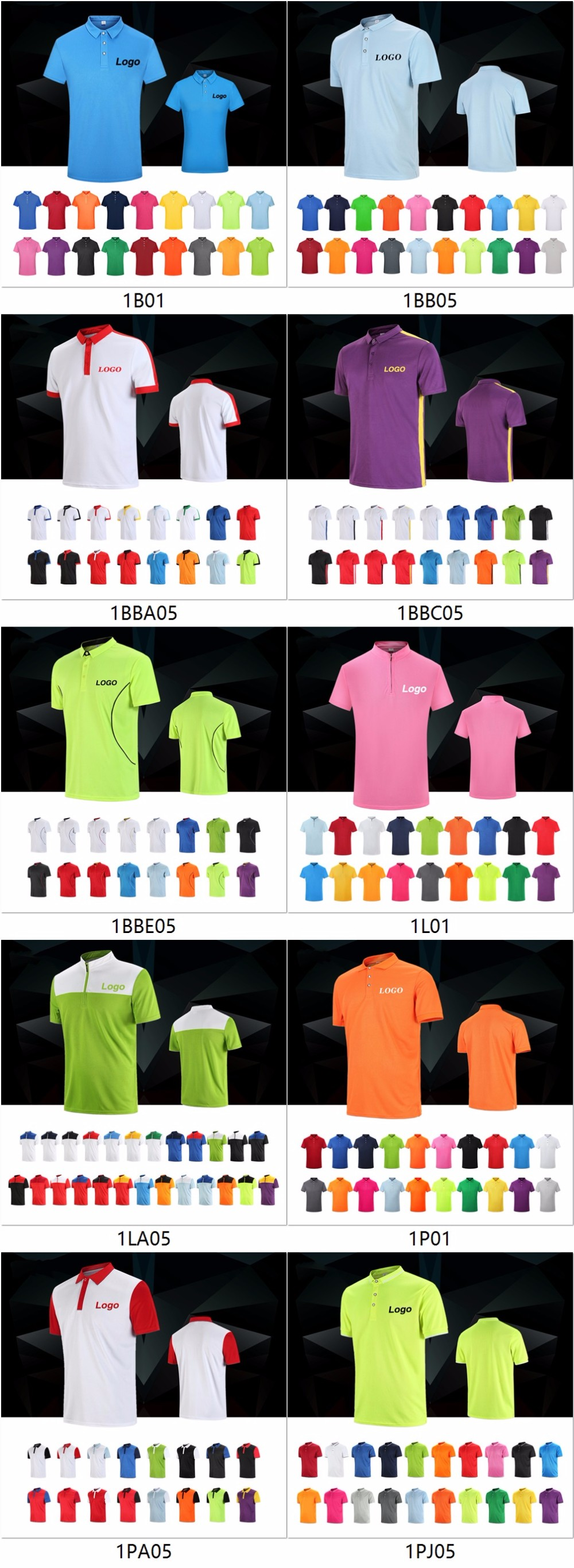 v neck marathon promotion All weather insulator polo t shirt