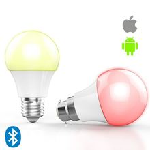 alibaba express,IOS Android RGBW android or ios control led light bulb made in usa