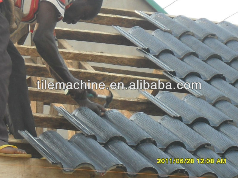KB125C automatic cement roof tile making machine
