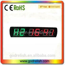 Hot sale electronic gym led digital sports countdown timer