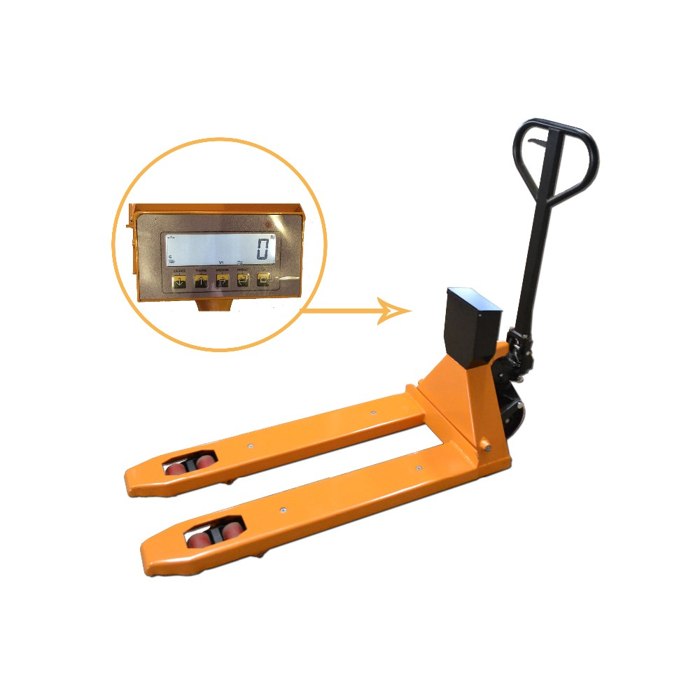 Economic Weighing Scale Hydraulic Hand Pallet Truck