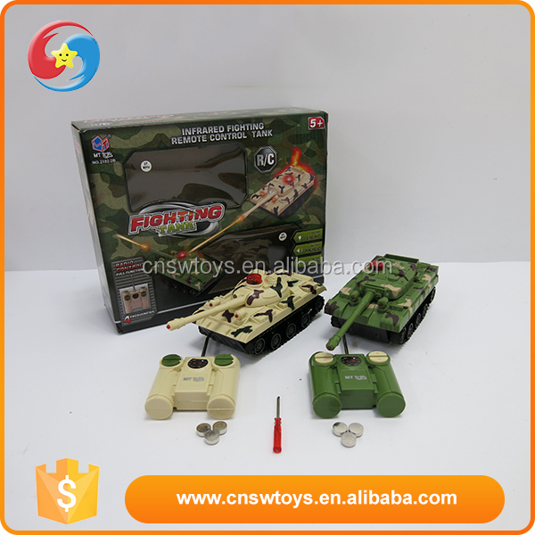 Most Popular soldier intelligence plastic rc battle tank with music