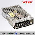 HOT SALE Mini-size smps MS-150-12 150w 12v switch mode power supply