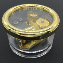 Portable Waterproof Round Music Box