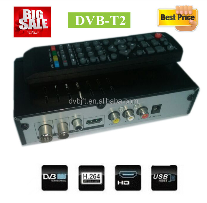 New modem dvb-t2 set top box digital satellite receiver mpeg2/4 for Thailand