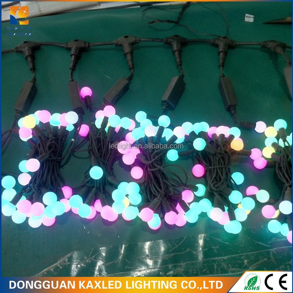 Indoor and Outdoor Hanging String Bulb Festival Decoration Lights Led Ball Light Chain GS CE ROHS Approved