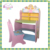 China supplier Children wooden study table with bookshelf