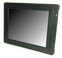 10.4inch 4:3 open frame LCD Monitors with double lamps (good quality),with HDMI/VGA/DVI,lcd open frame display