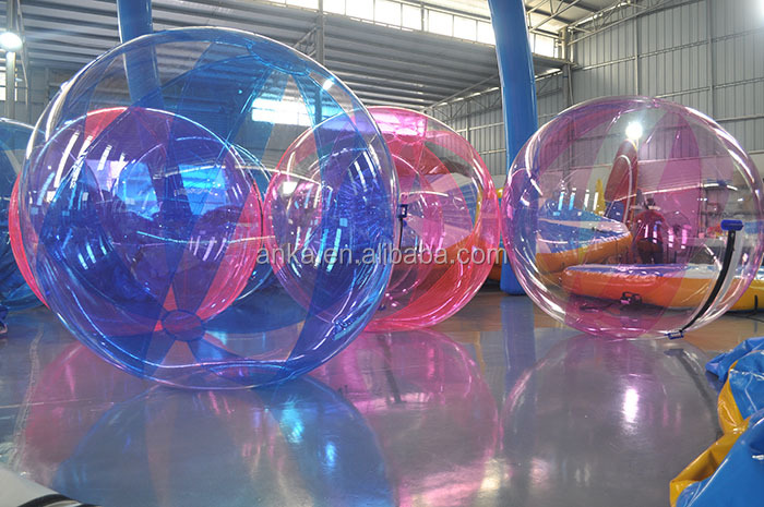 Outdoor funny inflatable ball water ball water walking roller ball