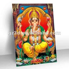 High definition Stereo PET 3d indian god pictures 3d god image (OR-019)