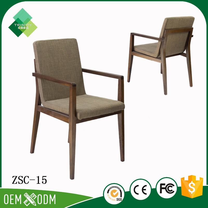 2017 Trending Products Wooden Armchair Living Room Chairs From Foshan Furniture Market
