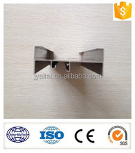 Anodzied extrusion aluminium profile for window and doors edge sealing