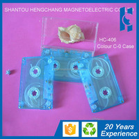 blank audio Cassette tapes factory