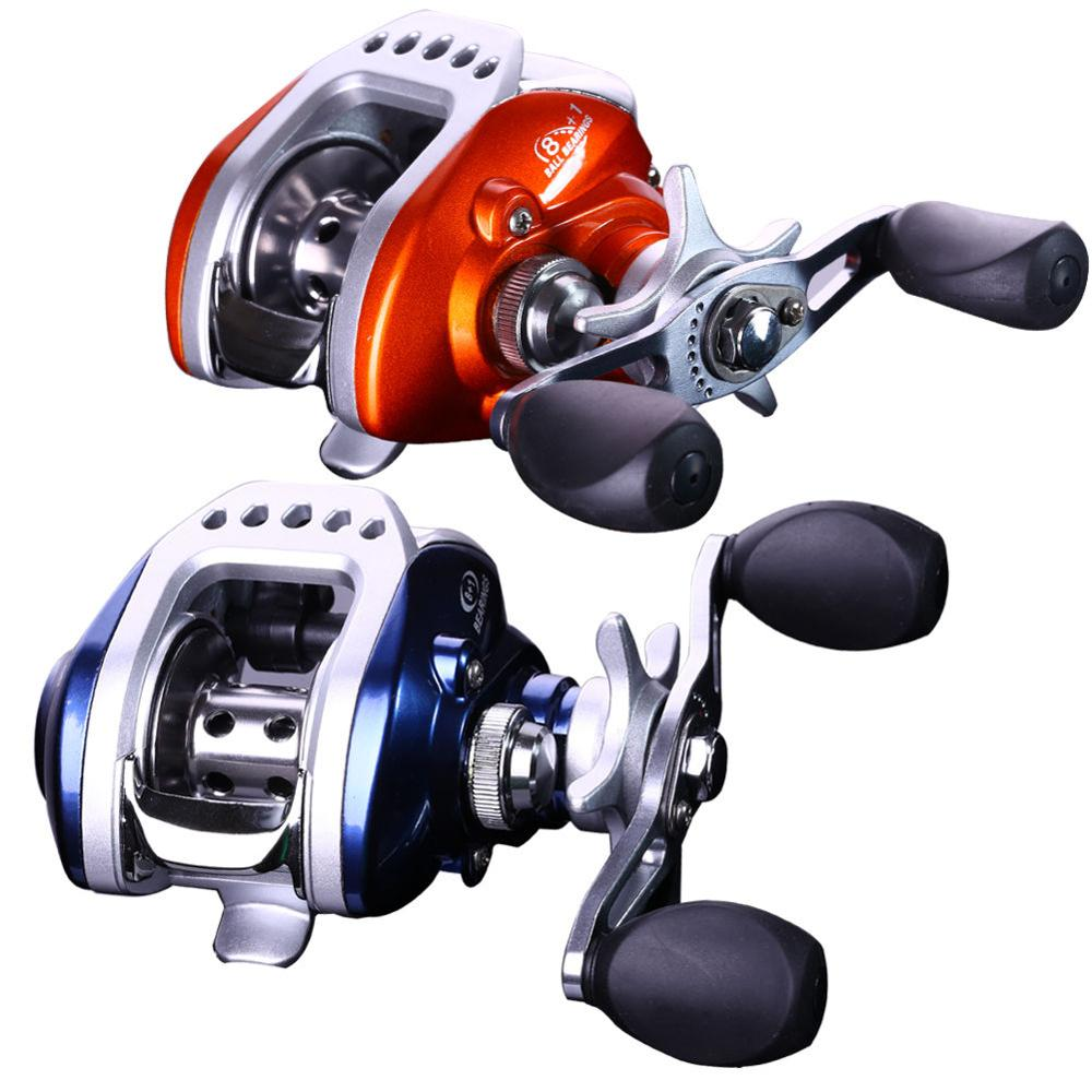 Saltwater Baitcasting Fishing Reel Lure Fishing Tackle Reels Gear Right/Left 1pc