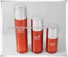 airless foudation bottle cosmetic twist up packaging