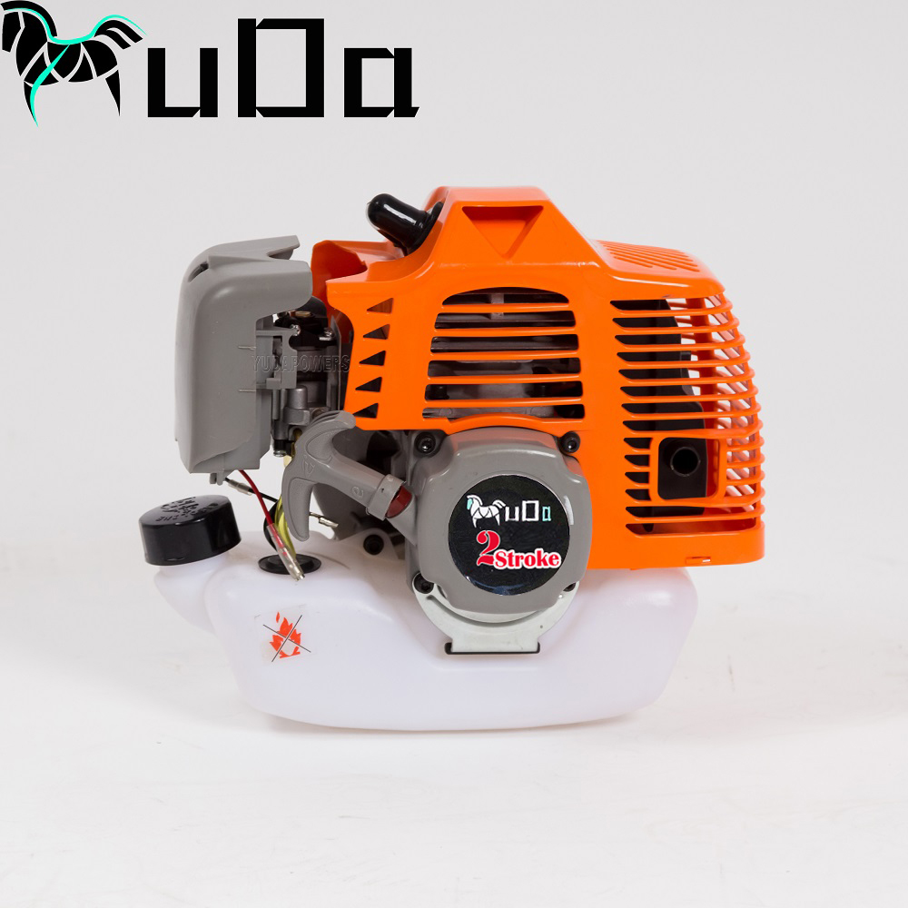 air cooled single cylinder 2 stroke 43cc brush cutter 1e40f gasoline engine