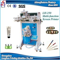 Semi Automatic Flat Round Oval Multi Function Pneumatic Screen Printing Machine