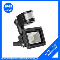 10W Motion Sensor Security Light, Daylight White LED Flood Lights