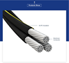 Triplex Aluminum Conductor 600V Secondary Type URD cable Rider