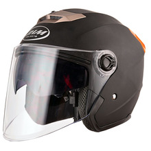 Stylish ABS material vintage motorcycle scooter open face helmets