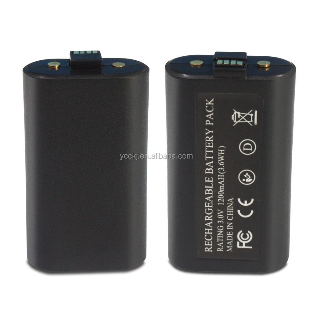 Factory rechargeable 800mAh battery pack for xbox one charge and play kit for xbox one