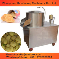 Commercial Used Potato Peeling Machine / Potato Peeler And Cutter