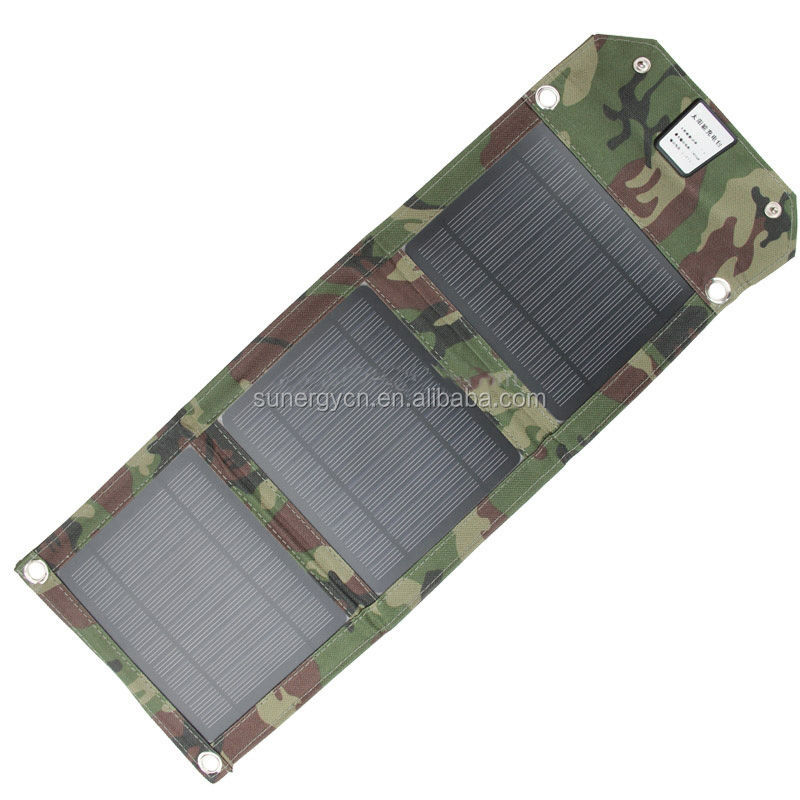 USB output Foldable Solar charger for power banks MP3 MP4