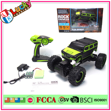 1:14 large scale toy trucks 2.4Ghz 4WD rc car electric climbing rc truck outdoor toys remote control waterproof truck