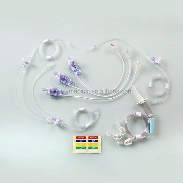 Medical disposable blood pressure sensor transducer