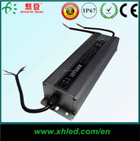 Efficiency 85% CE ROHS IP67 Waterproof Outdoor Using AC DC Switching Power Supply