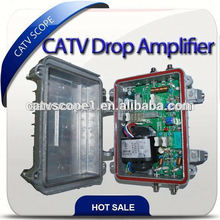 CATV Drop Amplifier K Type Forward Path/Cable tv RF amplifier