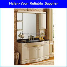 Popular The Australian Market Bathroom Free Standing Vanities Bright Maize-yellow Colour Oak Wood Cabinet Z-938
