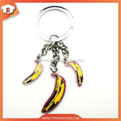 2015 lastest alloy logo keyring parts