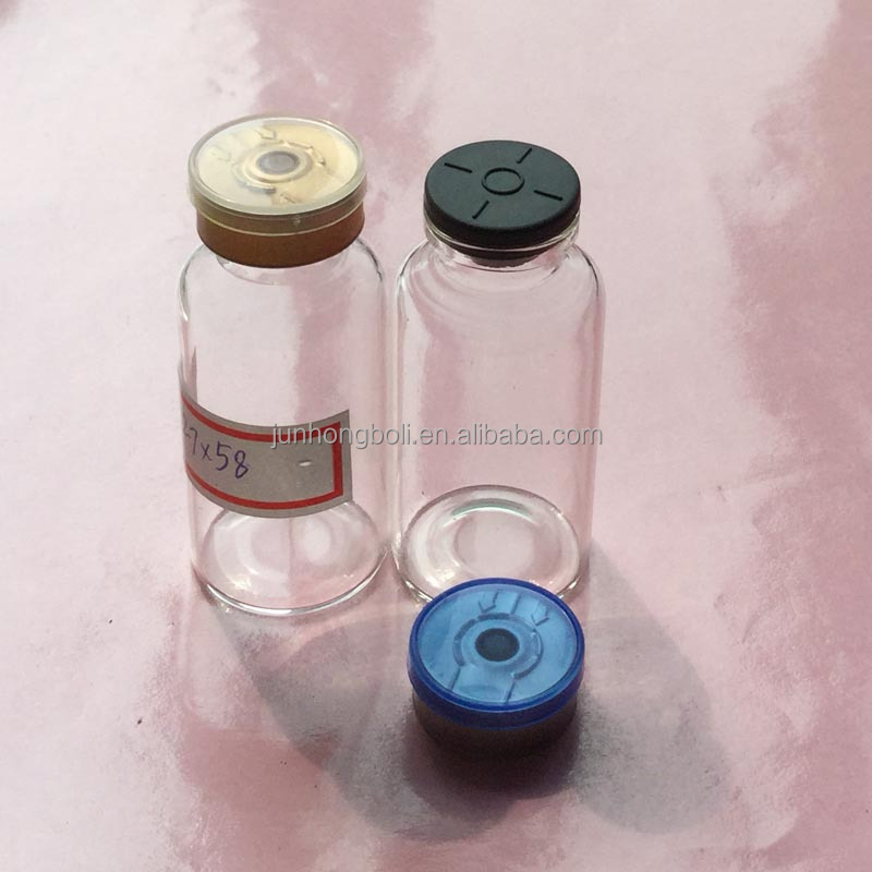 guangzhou supplier 20ml clear glass bottles for cosmetic serum bottle/medical pharmaceutical