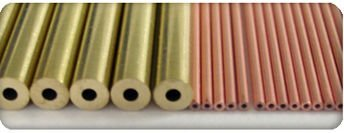 EDM electrode tube, copper / brass